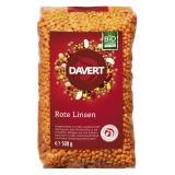 Rote feine Linsen, 500g, Davert