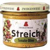 Streich Tomate Olive - veganer Brotaufstrich