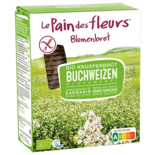 Blumenbrot Buchweizen glutenfrei