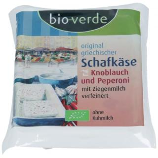 Schafkäse m. Knobl.+Pep.,vak 150g