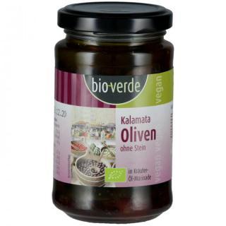 Oliven Schw. Kalamata-Oliven o. Stein, 200g Isana