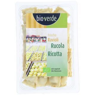 Frische Ravioli al Rucola und Ricotta