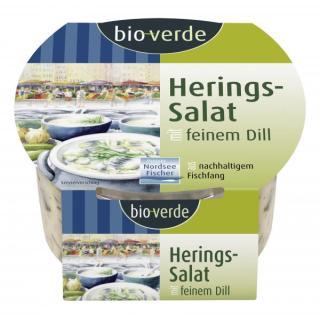 Herings-Salat mit feinem Dill