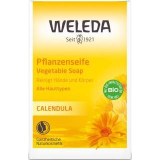 Calendula-Pflanzenseife 100g Stück