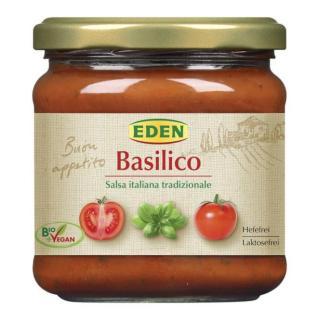 Tomatensauce Basilikum 375g Glas