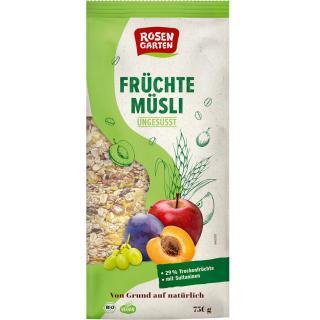 Früchte-Müsli 750g Rosengarten