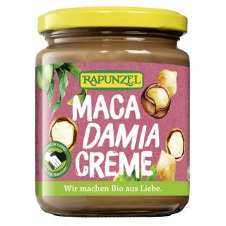Macadamia Creme  250g Glas