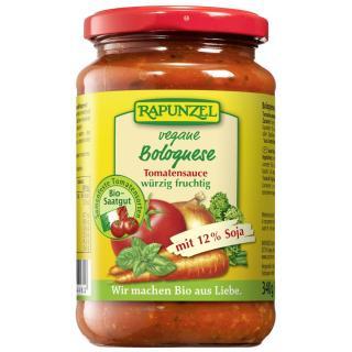Tomatensauce Bolognese (mit Soja), 340g vegetarisch,