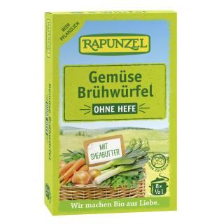 Gemüse-Brühwürfel ohne Hefe