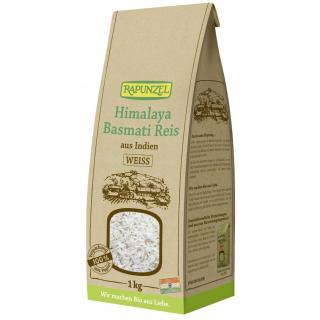 Reis Basmati weiß Rapunzel, 1 kg