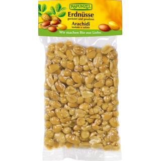 Erdnüsse geröstet, gesalzen 125g