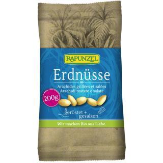 Erdnüsse geröstet, gesalzen 200g