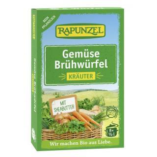 Gemüse-Brühwürfel mit Kräutern (8*0,5l