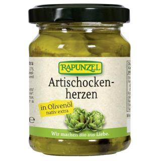 Artischockenherzen in Olivenöl 12g