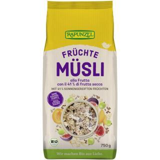 Früchte Müsli Rapunzel  750g  Abverkauf solange Vorrat reicht