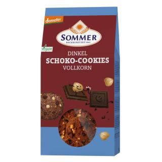Dinkel Schoko Cookies -Backkunst sseit 1864 - Vollkorn