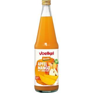 Apfel-Mango-Saft 0,7 l   Direktsaft