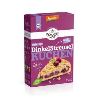 Backm. Dinkel Streuselkuchen