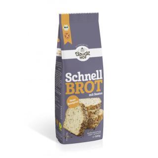 Schnellbrot500g, Bauck;  Glutenfreies Schnellbrot,