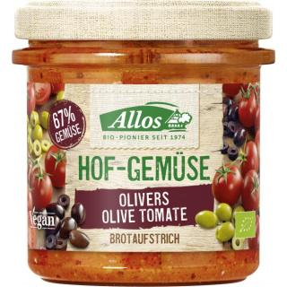 Hofgemüse Olivers Olive Tomate Brotaufstrich 135g