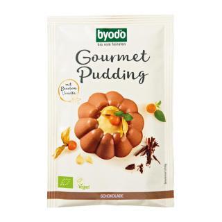 Pudding Schoko, Gourmet, 46g Tüte  mit Maisstärke