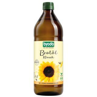Bratöl Sonnenblume 0,75 l klassisch, Byodo