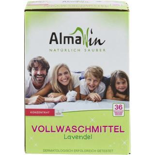 Almawin Vollwaschmittel Lavendel Pulver, 2 kg
