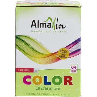 Almawin Vollwaschmittel Lindenblüte Pulver, 2 kg