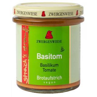 Basitom Aufstrich im Glas  160g -Zwergenwiese
