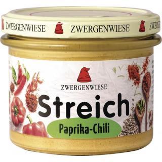 Streich Paprika Chili  - veganer Brotaufstrich