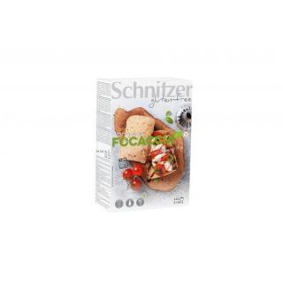 Focaccia - Maisfladenbrote zum Aufbacken 4 Stck (2*2)