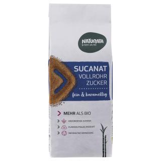 Zucker, 400g Sucanat, Vollrohrzucker braun