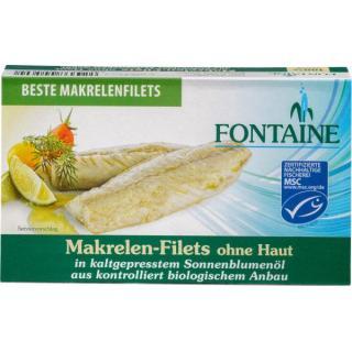 Makrelenfilets o. Haut+Gräten 120g
