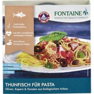 Thunfisch Pasta Oliven Kapern