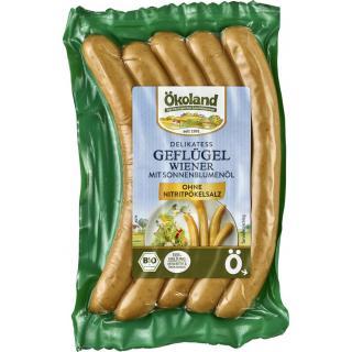 Delikatess Geflügel Wiener (5 St.) Ökoland