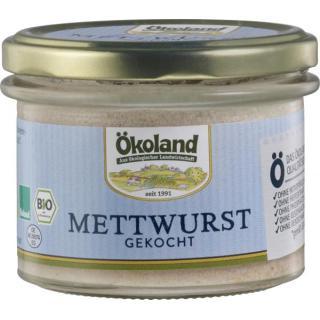 Mettwurst gekocht Gourmet Qualität im Glas