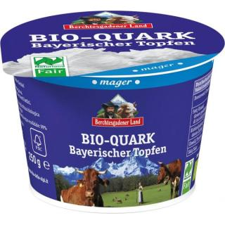 Quark natur mager 0,2% (bay. Topfen), 250g Becher
