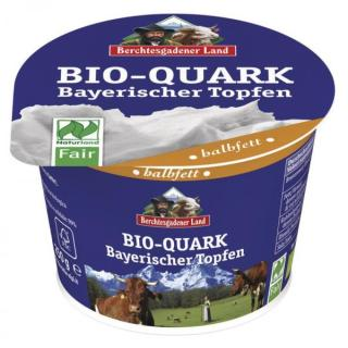 Quark natur halbfett 20% (bay. Topfen), 250g Becher