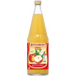 Apfelsaft 1 l naturtrüber Direktsaft -demeter Beu. 1l