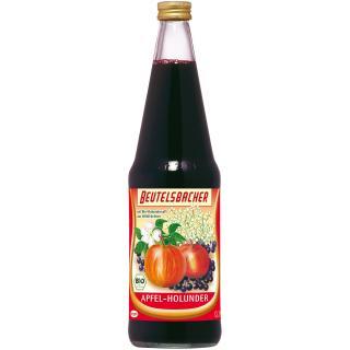 Apfel Holunder Saft   0,7l Beu.