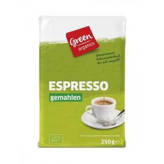 Espresso gemahlen 250g Green organics