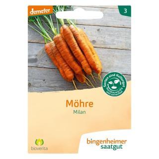 Möhren - Milan bio-dyn.Zücht.  Saatgut-tüte