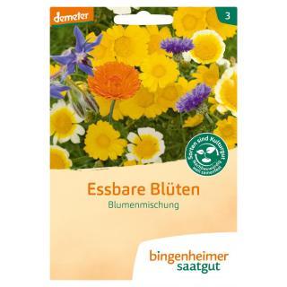 Essbare Blüten  Saatgut-tüte