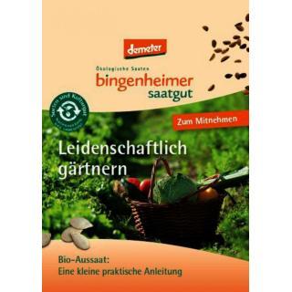 Infobroschüre Bingenheim Saat