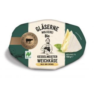 Camembert -Gläserene Molkerei 150g  mild aromatisch