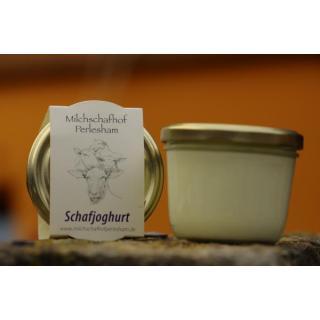 Schafjoghurt 175 g Glas  Perleshammer