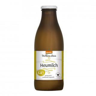 Heumilch 3,8% frisch in der Flasche