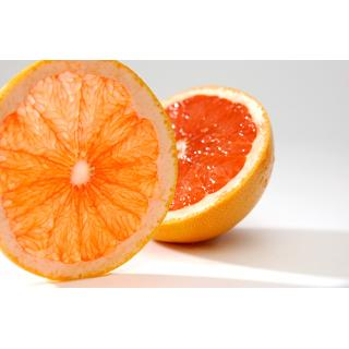 -Grapefruit grün orange - innen rose