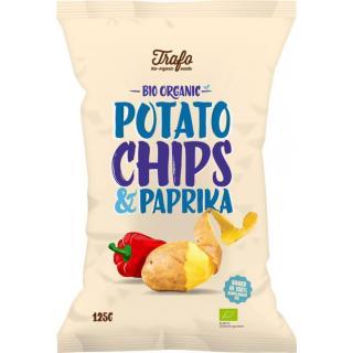 Chips: Kartoffelchips mit Paprika-Tüte