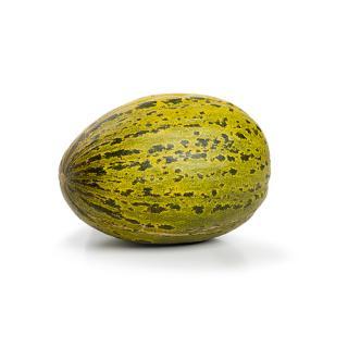 -Melone Canari  gelbe/grüne ovale Frucht ca 1-1,7 kg /St